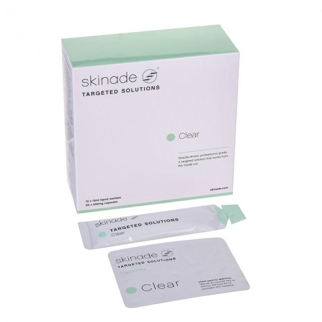 Skinade Targeted Solutions- Clear 30 days supply